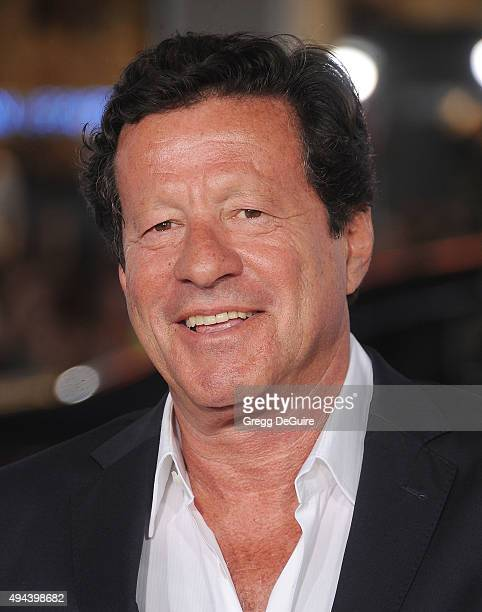 Actor Joaquim de Almeida arrives at the premiere of Warner Bros Pictures' Our Brand Is Crisis at TCL Chinese Theatre on October 26 2015 in Hollywood...