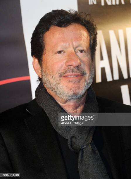 Actor Joaquim de Almeida arrives for the Premiere Of And The Winner Isn't at Laemmle Music Hall on December 8 2017 in Beverly Hills California