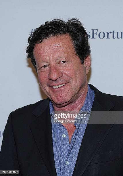 Actor Joaquim de Almeida attends the A Date With Miss Fortune Premiere at Cineplex Cinemas Yonge Dundas VIP on January 28 2016 in Toronto Canada