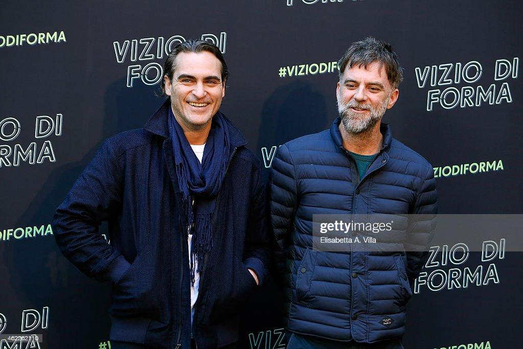 Vizio Di Forma - Inherent Vice Press Conference : News Photo