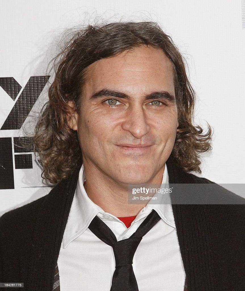 Actor Joaquin Phoenix attends the Closing Night Gala Presentation Of 'Her' during the 51st New York Film Festival at Alice Tully Hall at Lincoln Center on October 12, 2013 in New York City.