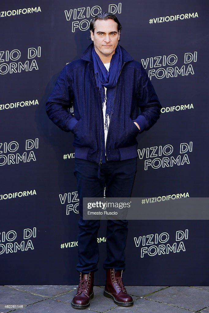 Vizio Di Forma - Inherent Vice Press Conference : News Photo