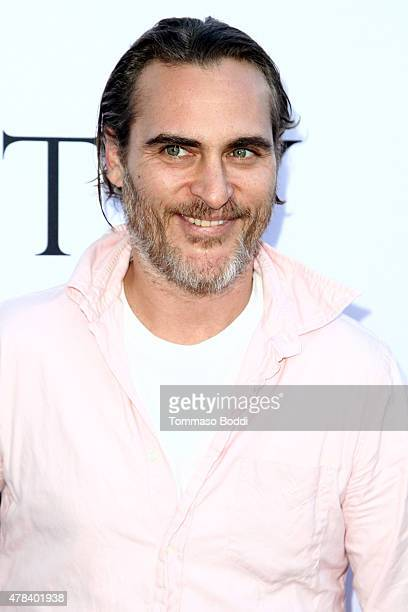 Actor Joaquin Phoenix attends the world premiere screening of documentary 'Unity' held at the DGA Theater on June 24 2015 in Los Angeles California