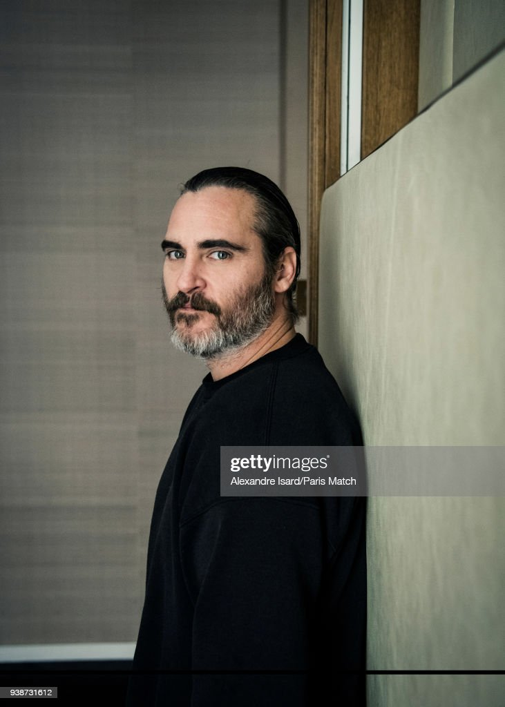 Joaquin Phoenix, Paris Match Issue 3593, March 28, 2018