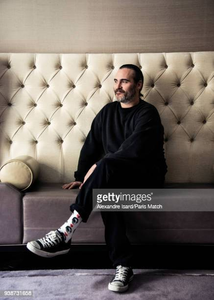 Actor Joaquin Phoenix is photographed for Paris Match on February 27 2018 in London England