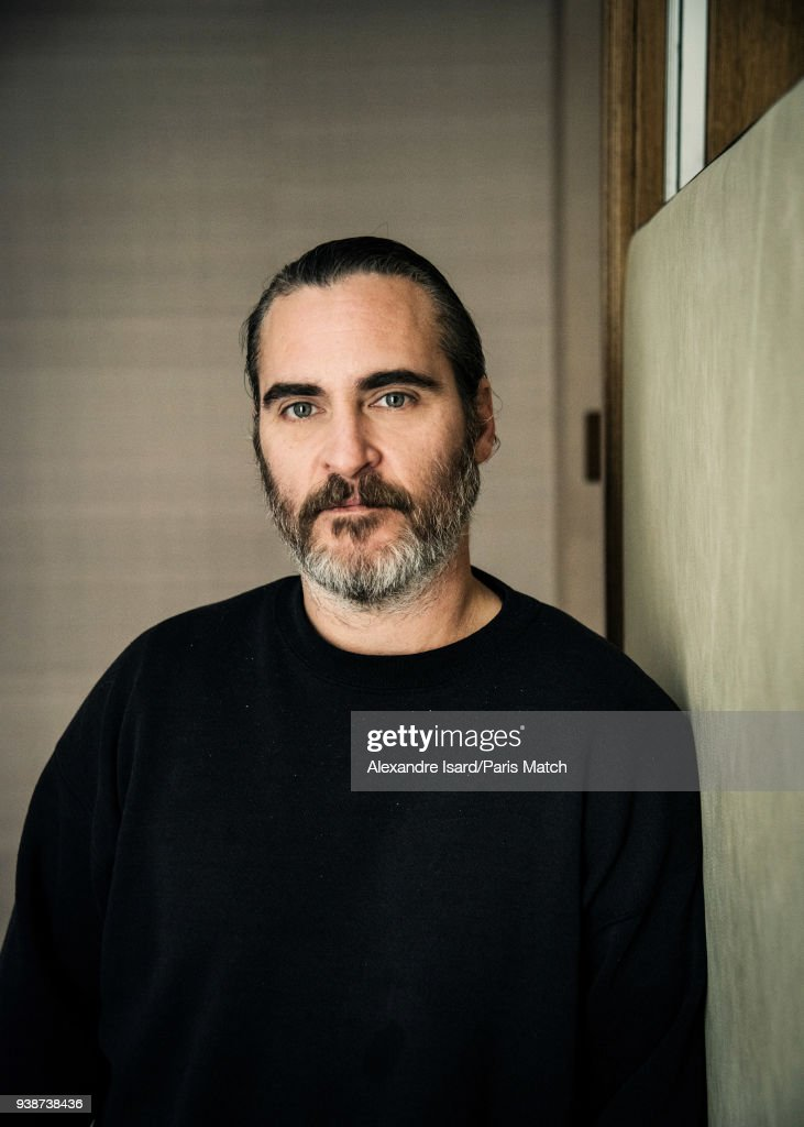 Joaquin Phoenix, Paris Match Issue 3593, March 28, 2018 : News Photo