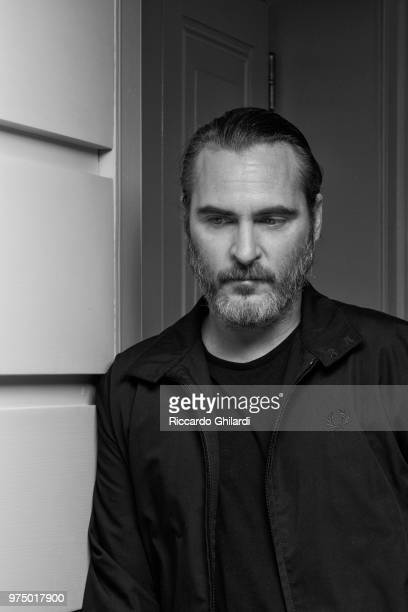 Actor Joaquin Phoenix is photographed for Self Assignment on April 2018 in Rome Italy