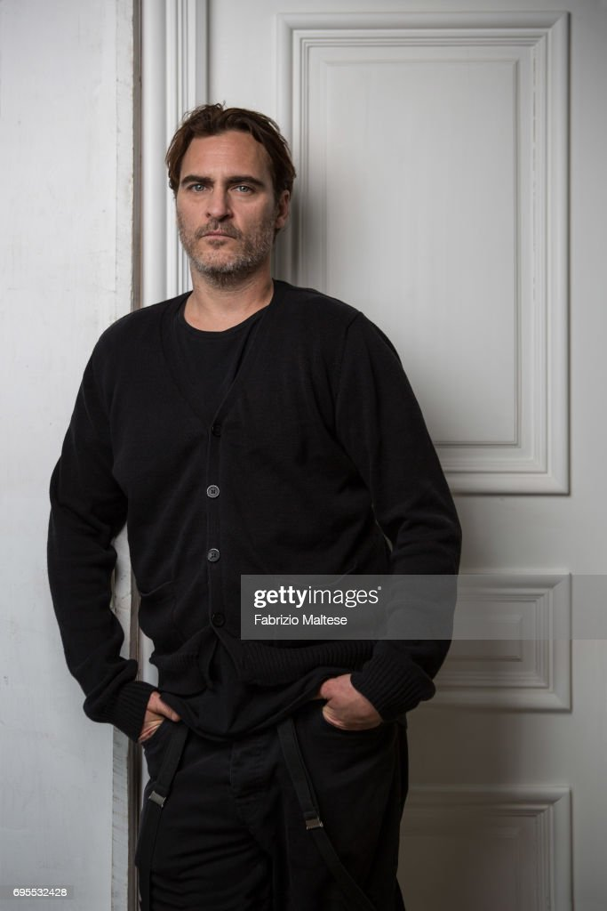 Joaquin Phoenix, Hollywood Reporter magazine USA, June 6, 2017 : News Photo