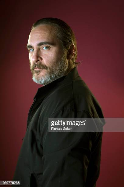 Actor Joaquin Phoenix is photographed for the Observer on February 26 2018 in London England
