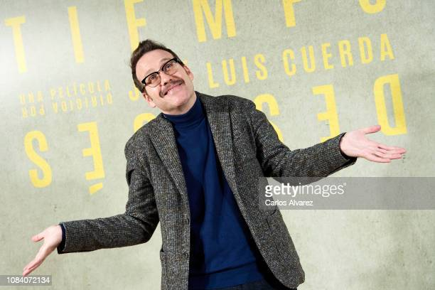 Actor Joaquin Reyes attends 'Tiempo Despues' photocall at Urso Hotel on December 18 2018 in Madrid Spain