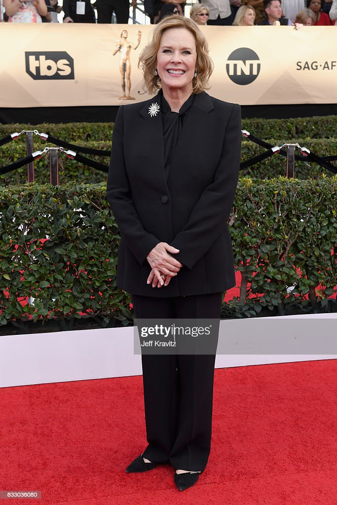 Actor JoBeth Williams attends the 23rd Annual Screen Actors Guild Awards at The Shrine Expo Hall on January 29, 2017 in Los Angeles, California.