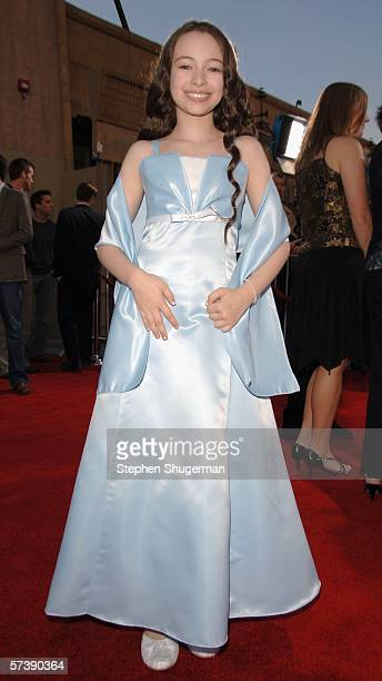 Actor Jodelle Ferland attends the premiere of TriStar Pictures' Silent Hill at the Egyptian Theatre on April 20 2006 in Hollywood California