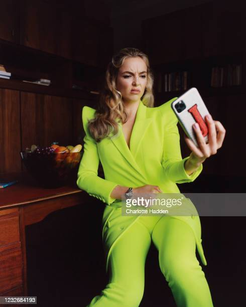 Actor Jodie Comer is photographed for the InStyle magazine on November 2, 2020 in London, England.