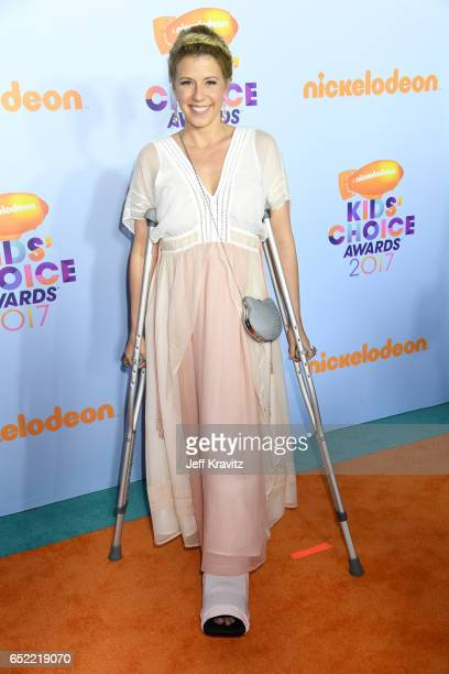 Actor Jodie Sweetin at Nickelodeon's 2017 Kids' Choice Awards at USC Galen Center on March 11, 2017 in Los Angeles, California.