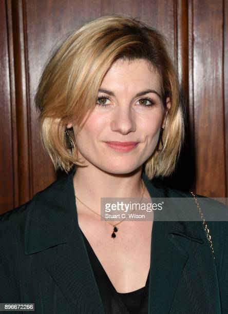Actor Jodie Whittaker attends the opening night of 'Hamilton' at Victoria Palace Theatre on December 21 2017 in London England
