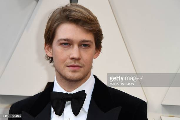 Actor Joe Alwyn arrives for the 91st Annual Academy Awards at the Dolby Theatre in Hollywood California on February 24 2019