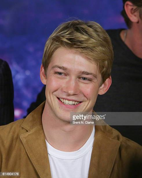 Actor Joe Alwyn attends the 'Billy Lynn's Long Halftime Walk' photo call held at JW Marriott Essex House on October 15 2016 in New York City
