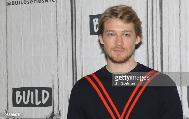Actor Joe Alwyn attends the Build Series to discuss Mary Queen of Scots at Build Studio on December 4 2018 in New York City