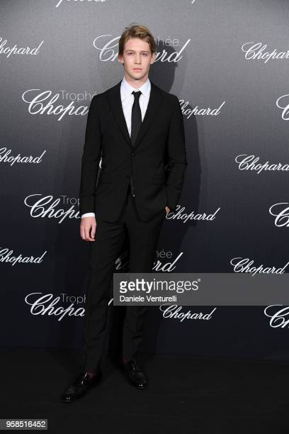 Actor Joe Alwyn attends the Chopard Trophy during the 71st annual Cannes Film Festival at Martinez Hotel on May 14 2018 in Cannes France