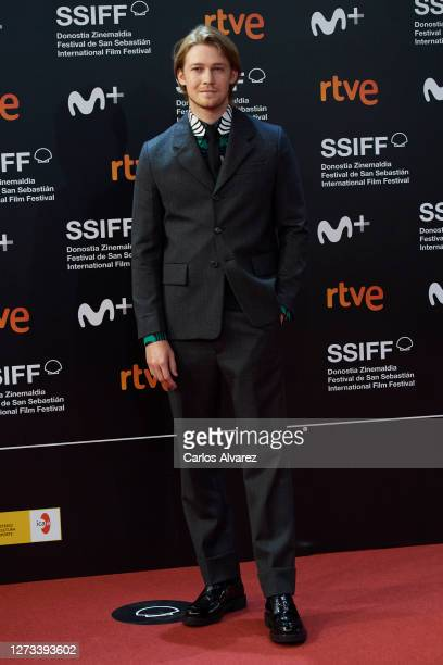 Actor Joe Alwyn attends the 'Rifkin's Festival' Premiere during the 68th San Sebastian Iternacional Film Festival at the Kursaal Palace on September...