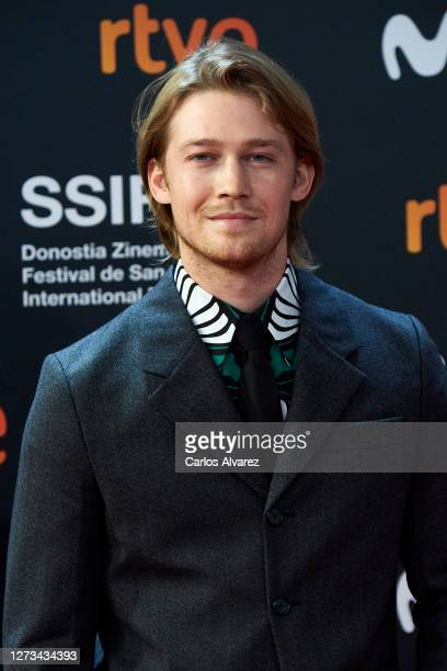 Actor Joe Alwyn attends the 'Rifkin's Festival' Premiere during the 68th San Sebastian International Film Festival at the Kursaal Palace on September...
