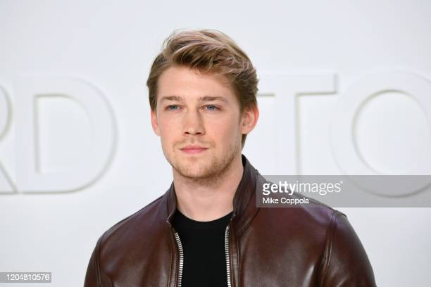 Actor Joe Alwyn attends the Tom Ford AW20 Show at Milk Studios on February 07, 2020 in Hollywood, California.