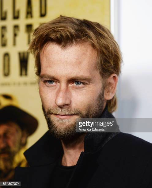 Actor Joe Anderson arrives at the AFI FEST 2017 Presented By Audi screening of The Ballad Of Lefty Brown at the Egyptian Theatre on November 14 2017...