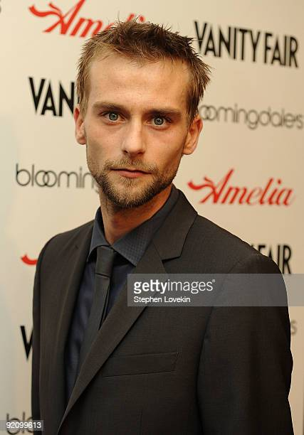 Actor Joe Anderson attends the premiere of Amelia at The Paris Theatre on October 20 2009 in New York City