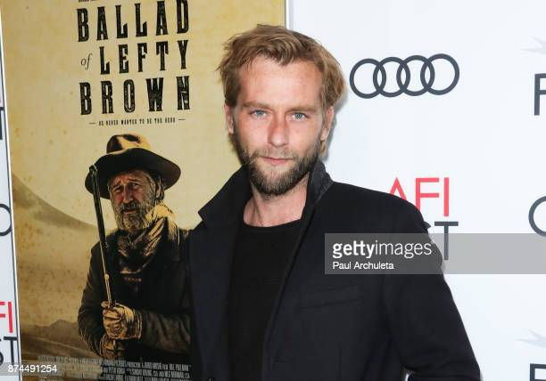 Actor Joe Anderson attends the screening of Ballad Of Lefty Brown for the AFI FEST 2017 presented by Audi at the Egyptian Theatre on November 14 2017...