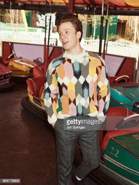 Actor Joe Cole is photographed for Mr Porter on November 15 2017 in Margate England