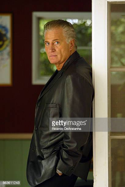 Actor Joe Cortese photographed at his home in Beverly Hills. Cortese has played a rough cop, a tough guy, a mob boss, but now he is playing a king –...