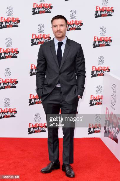 Actor Joe Dempsie attends the THREE Empire awards at The Roundhouse on March 19 2017 in London England