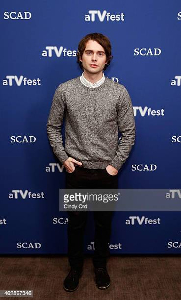 Actor Joe Doyle attends the 'Salem' press junket during aTVfest presented by SCAD on February 6 2015 in Atlanta Georgia