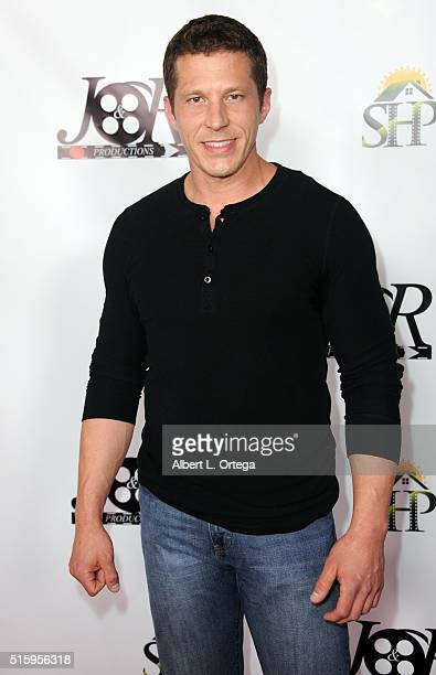 Actor Joe Filder arrives for the Premiere Of JR Productions' Halloweed held at TCL Chinese 6 Theatres on March 15 2016 in Hollywood California