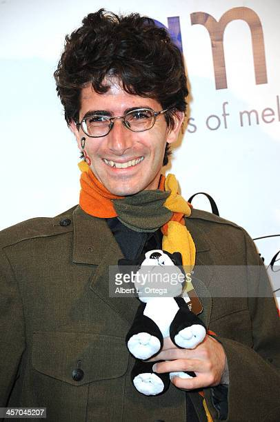 Actor Joe Filippone attends Britticares Toy Drive with a benefit concert by G Tom Mac Many Of Odd Nature in conjunction with publicist Michael...