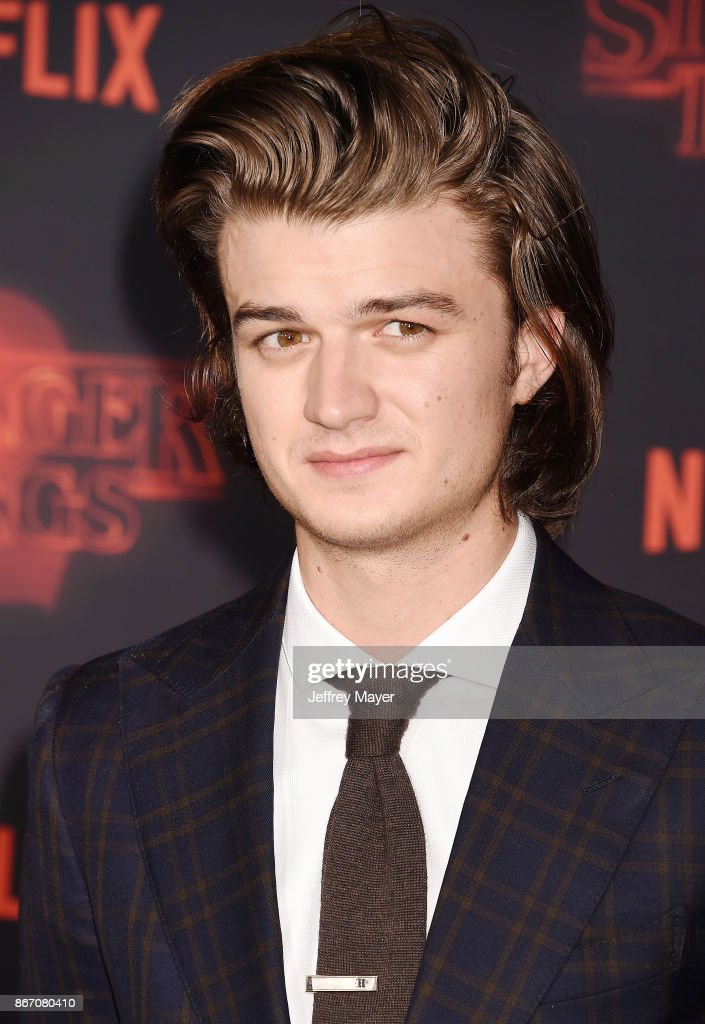 Premiere Of Netflix's 'Stranger Things' Season 2 - Arrivals : News Photo