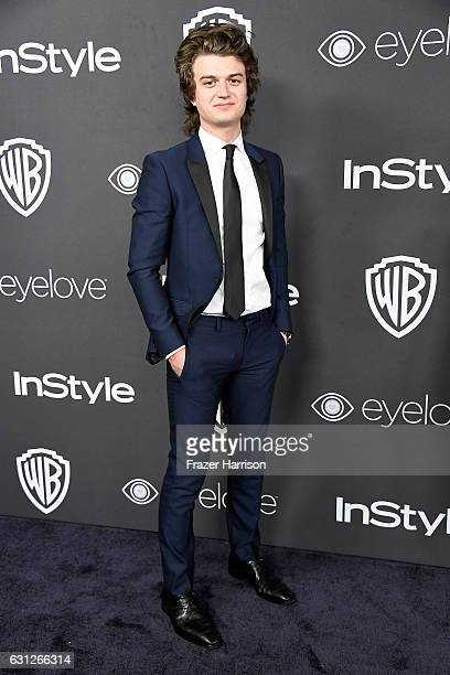 Actor Joe Keery attends the 18th Annual PostGolden Globes Party hosted by Warner Bros Pictures and InStyle at The Beverly Hilton Hotel on January 8...