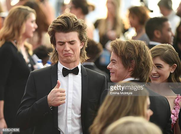Actor Joe Keery attends The 23rd Annual Screen Actors Guild Awards at The Shrine Auditorium on January 29, 2017 in Los Angeles, California. 26592_016