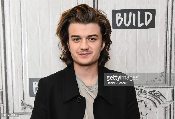 Actor Joe Keery attends the Build Series to discuss the Netflix show 'Stranger Things 2' at Build Studio on November 29 2017 in New York City