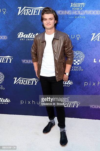Actor Joe Keery attends Variety's Power of Young Hollywood at NeueHouse Hollywood on August 16 2016 in Los Angeles California