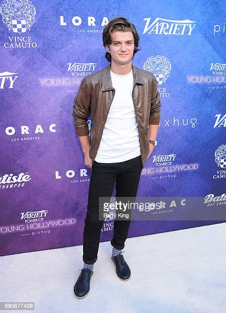 Actor Joe Keery attends Variety's Power of Young Hollywood event, presented by Pixhug, with Platinum Sponsor Vince Camuto at NeueHouse Hollywood on...