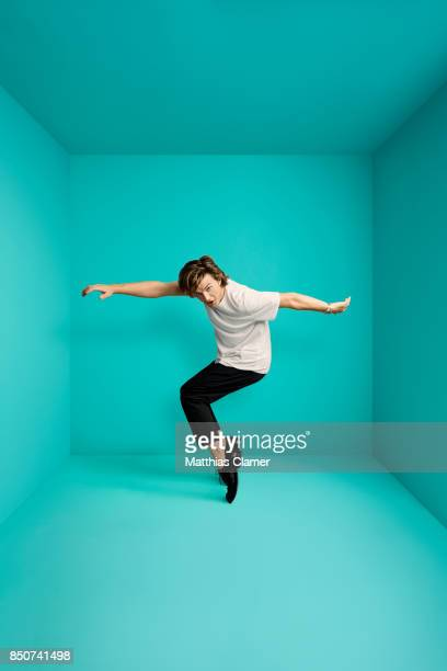 Actor Joe Keery from Stranger Things is photographed for Entertainment Weekly Magazine on July 21 2017 at Comic Con in San Diego California PUBLISHED...