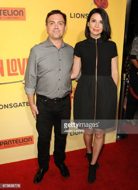 Actor Joe Lo Truglio and wife Beth Dover attend the premiere of 'How to Be a Latin Lover' at ArcLight Cinemas Cinerama Dome on April 26 2017 in...