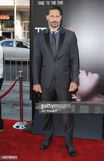"""Actor Joe Manganiello arrives at HBO's """"True Blood"""" Final Season Premiere at TCL Chinese Theatre on June 17, 2014 in Hollywood, California."""
