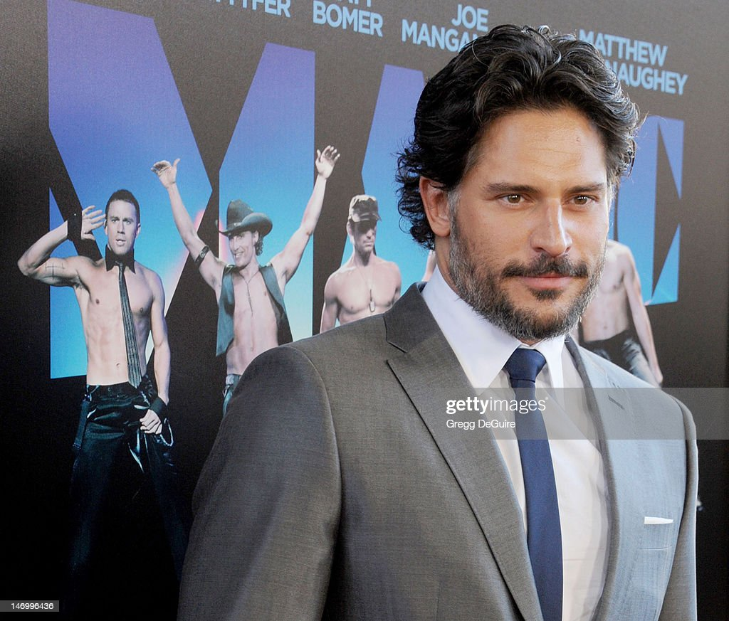 Actor Joe Manganiello arrives at the 2012 Los Angeles Film Festival closing night gala premiere of 'Magic Mike' at Regal Cinemas L.A. Live on June 24, 2012 in Los Angeles, California.
