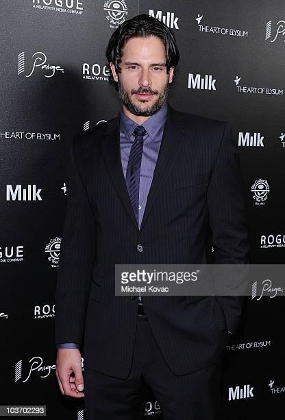 Actor Joe Manganiello arrives at The Art of Elysium's 2nd Annual Genesis Awards at Milk Studios on August 28, 2010 in Hollywood, California.