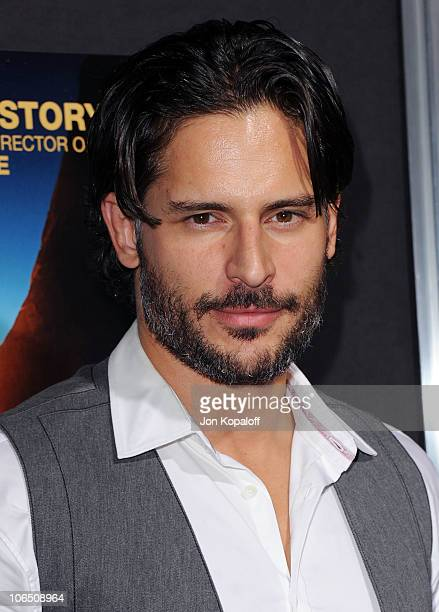 Actor Joe Manganiello arrives at the Los Angeles Premiere 127 Hours at AMPAS Samuel Goldwyn Theater on November 3 2010 in Beverly Hills California