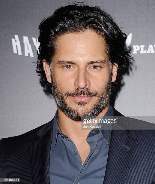 Actor Joe Manganiello arrives at the Los Angeles Premiere Haywire at Directors Guild Of America on January 5 2012 in Los Angeles California