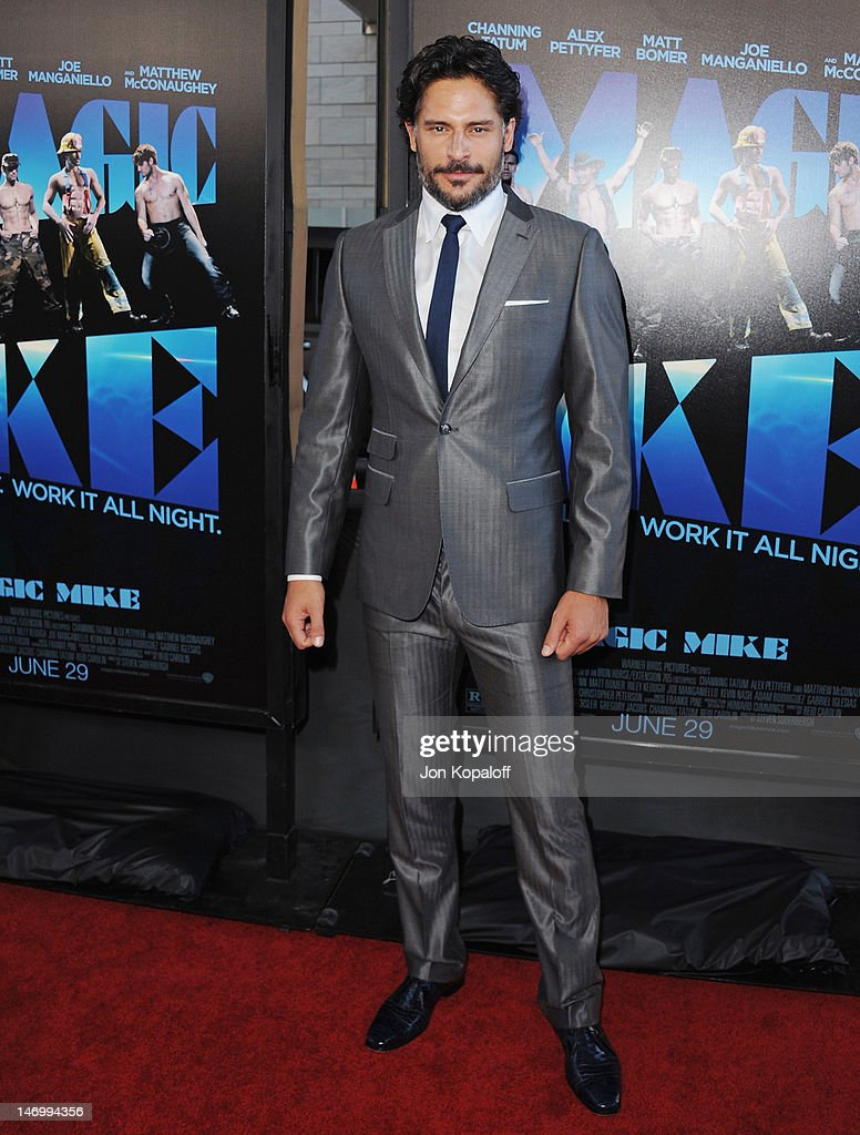 Actor Joe Manganiello arrives at the 'Magic Mike' Closing Night Premiere at the 2012 Los Angeles Film Festival at Regal Cinemas L.A. Live on June 24, 2012 in Los Angeles, California.