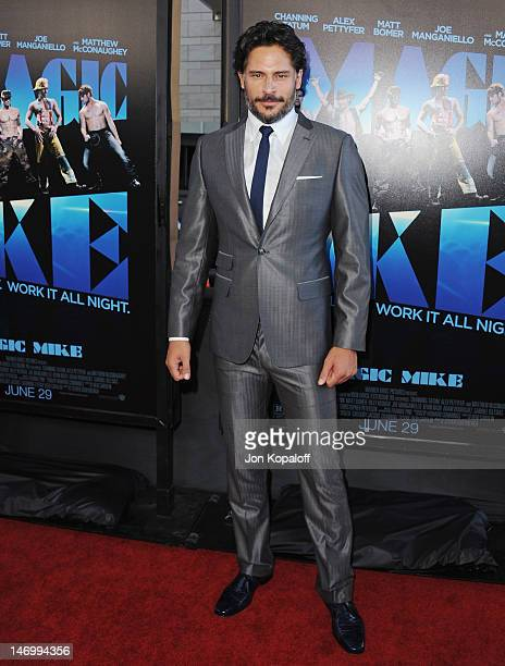 """Actor Joe Manganiello arrives at the """"Magic Mike"""" Closing Night Premiere at the 2012 Los Angeles Film Festival at Regal Cinemas L.A. Live on June 24,..."""